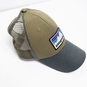 Patagonia Olive Green And Black Trucker Hat